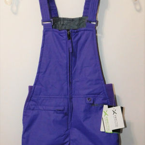 Arctix Youth Purple Overalls Snow Bib